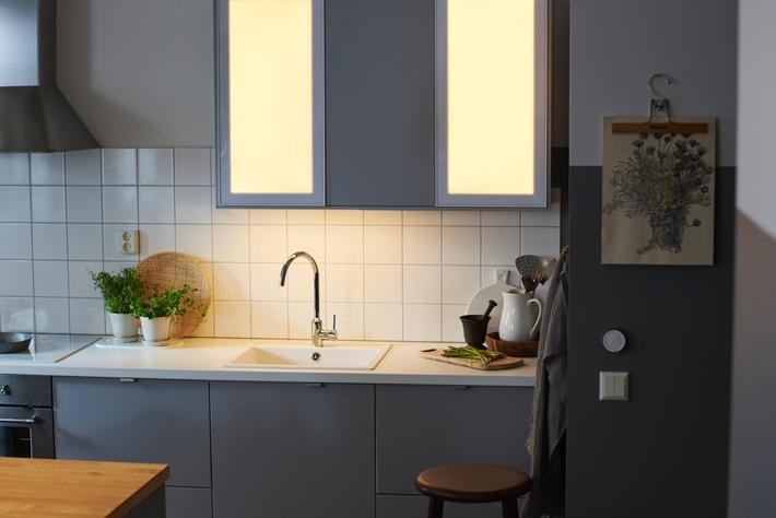 Neue smarte Beleuchtung - IKEA macht den nächsten Schritt hin zum cleveren Zuhause (Smart Home)