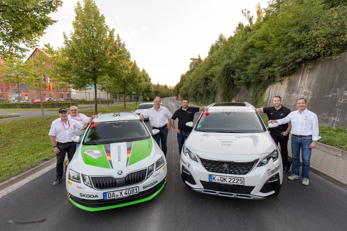 Pilotprojekt Sicherheit bei Rallye Thüringen gestartet
