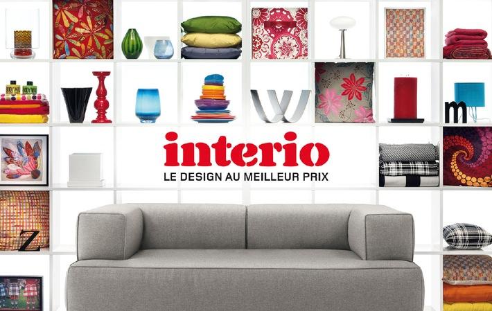 Interio catalogue principal 2009: Dès août dans toutes les succursales