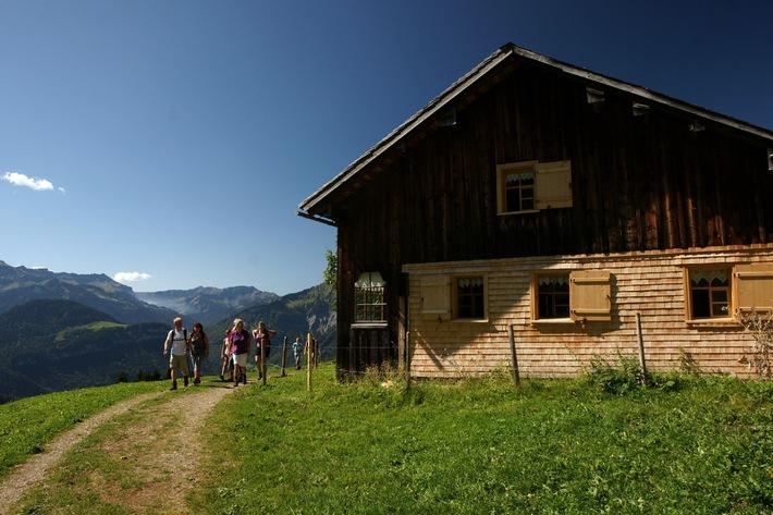 Bregenzerwald: Weitwandern mit Gepäcksservice