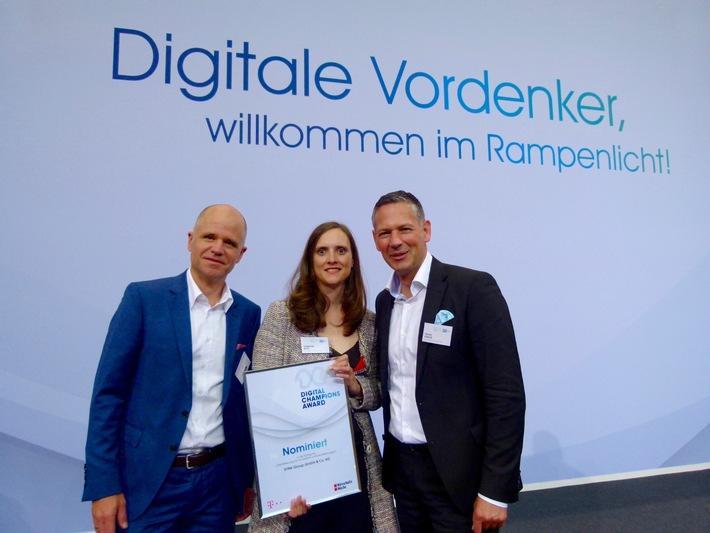 Digitale Vordenker für Human Resources: SYNK GROUP unter den TOP 3 des Digital Champions Awards