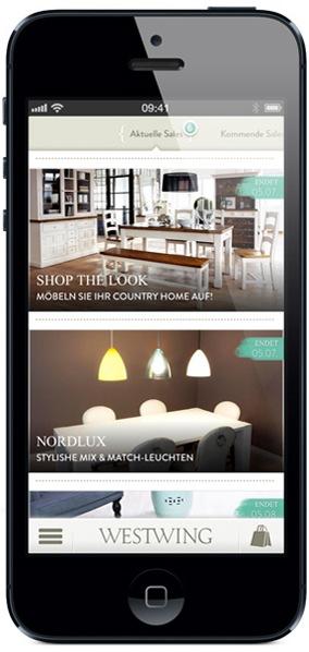 Immer stilvoll unterwegs: Möbel und Accessoires von unterwegs einkaufen - mit der neuen iPhone App für Home & Living