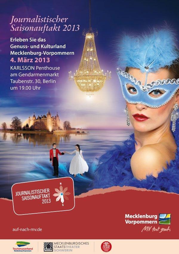 Mecklenburg-Vorpommern präsentiert sich zur ITB 2013