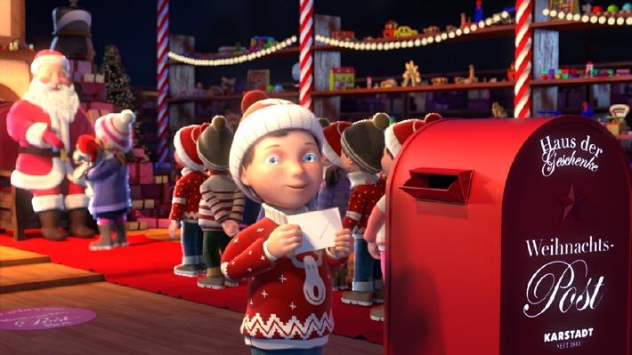 Karstadt schickt seinen Weihnachtsmann auf Deutschlandreise!