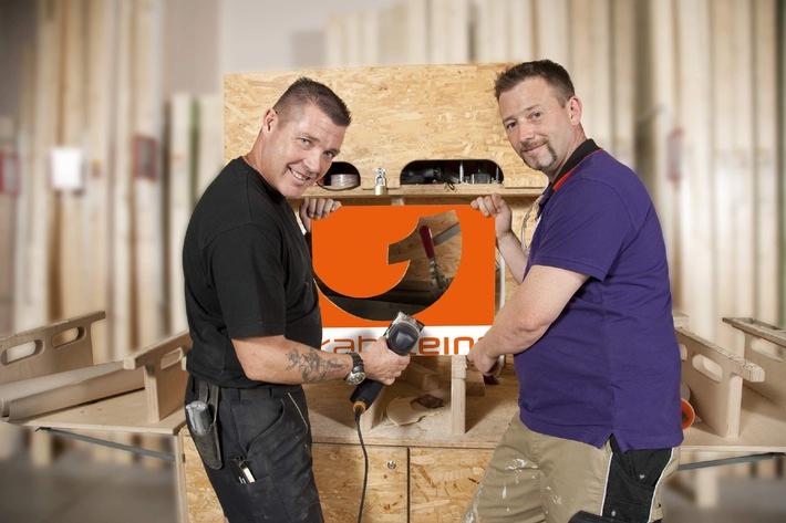 """Unfallfrei heimwerken! """"Die Super-Heimwerker"""" gehen in Serie - ab 11. Oktober 2010 montags bis freitags um 18.45 Uhr bei kabel eins (mit Bild)"""