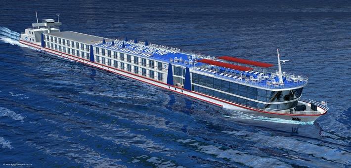 Neues Flussschiff für Transocean Tours in 2006
