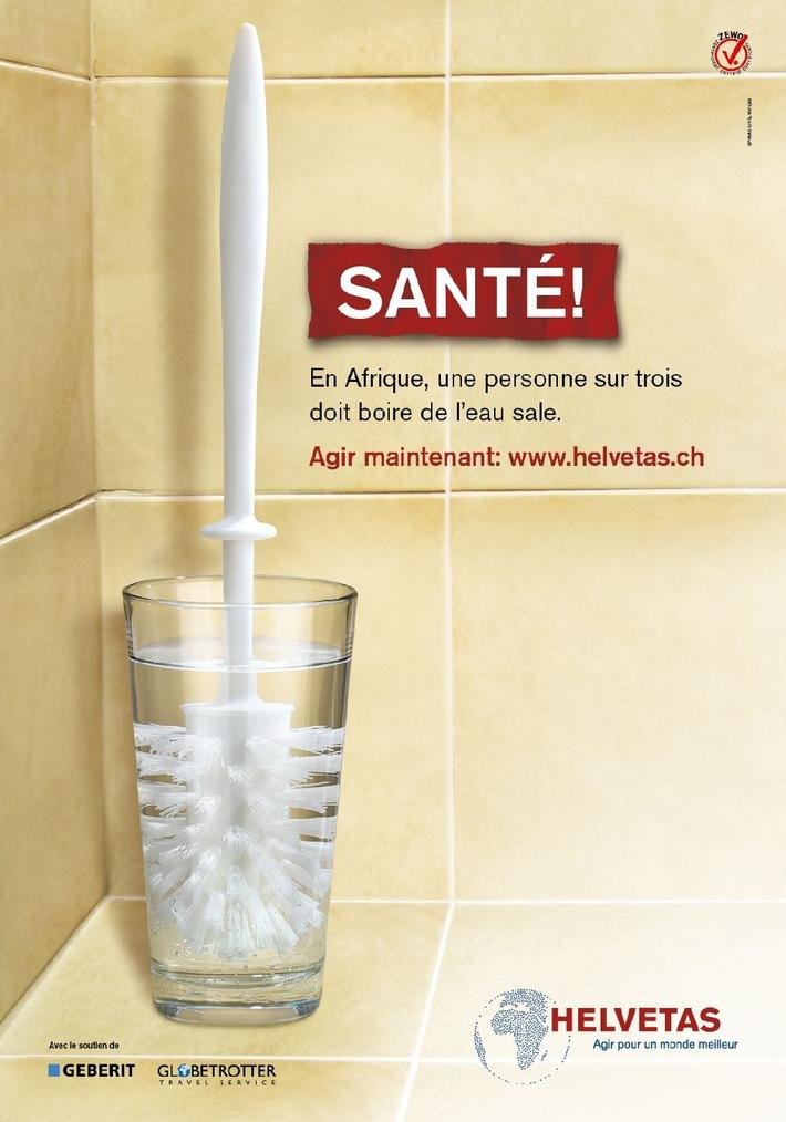 Nouvelle campagne Helvetas : Santé!