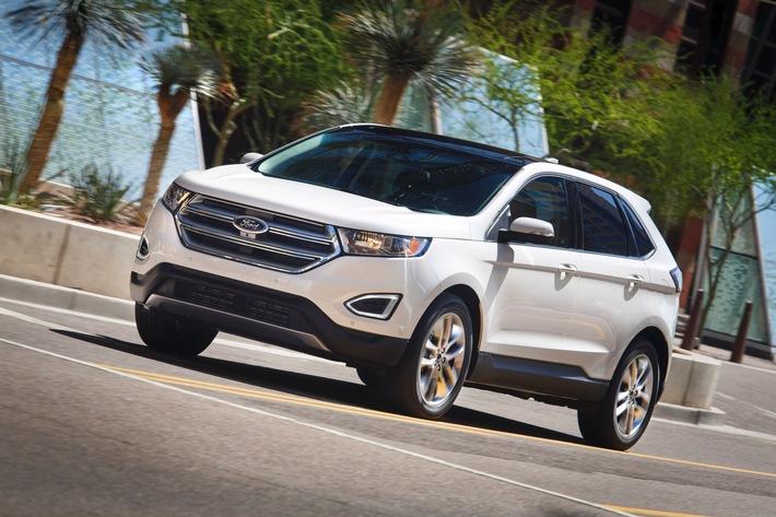 Ford auf der IAA Pkw: Neues SUV-Top-Modell Edge feiert seine Europa-Premiere