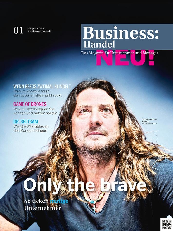 Wettlauf zwischen stationärem Handel und Multi-Channel-Commerce / Neues Magazin BusinessHandel feiert den Mut zum Wandel