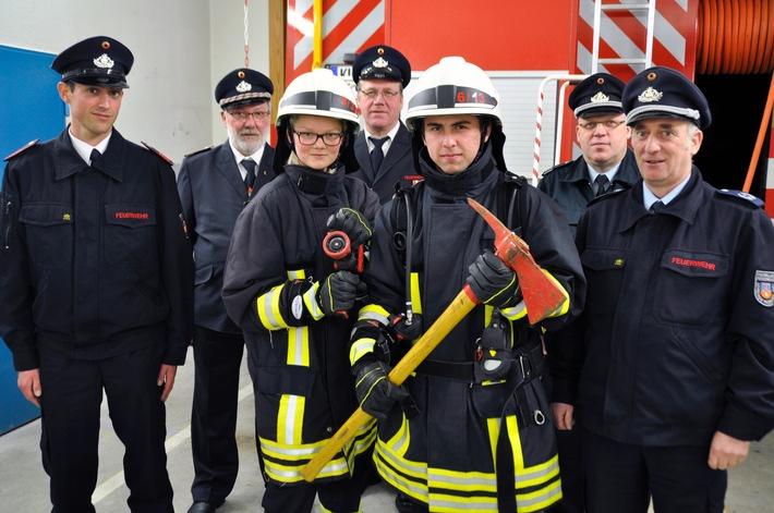 """FW-KLE: """"Jugend ist Zukunft der Wehr"""" / Nachwuchs in der Freiwilligen Feuerwehr Bedburg-Hau"""