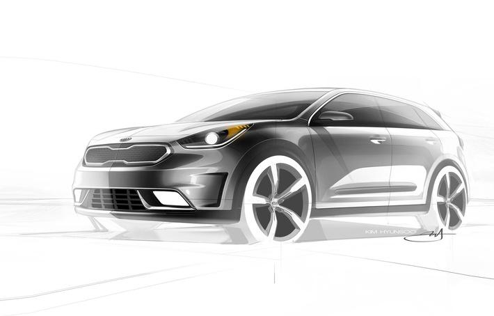 Kia Niro: Neuer Kompakt-SUV mit Hybridantrieb