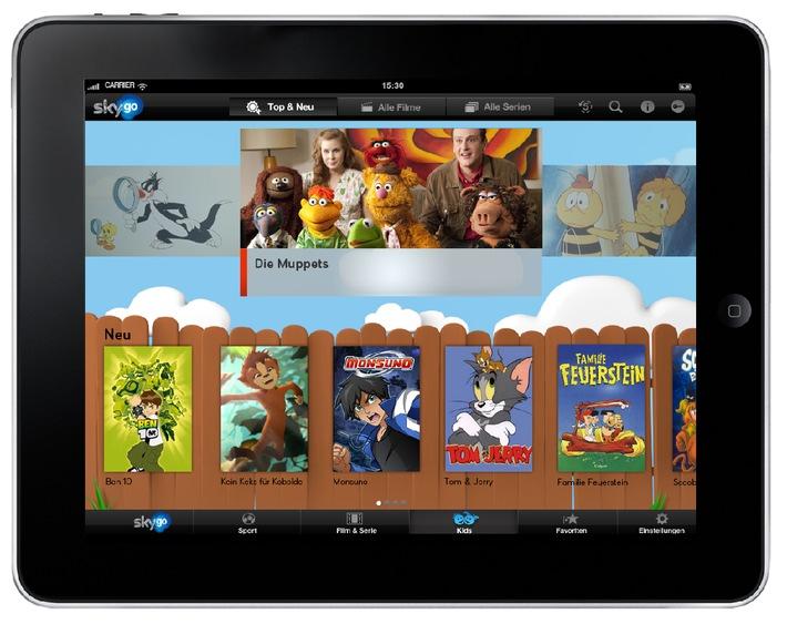 Sky startet ab sofort umfangreichen Kids-Bereich auf Sky Go (BILD)