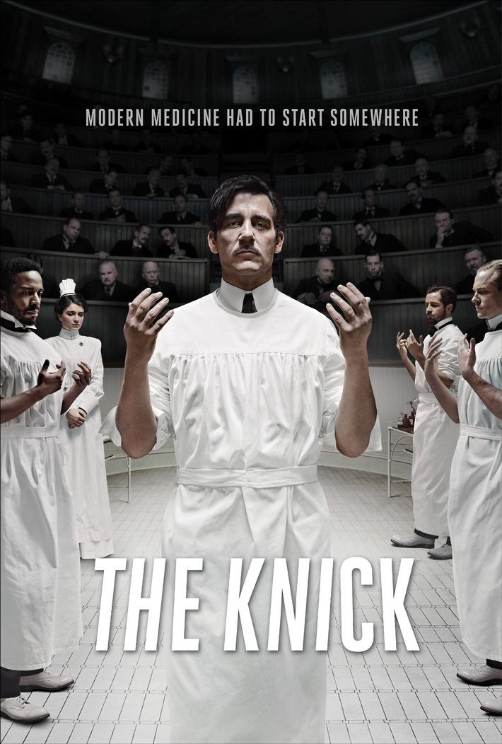 """Als die Chirurgie noch in den Kinderschuhen steckte: """"The Knick"""" ab 25. November exklusiv auf Sky"""