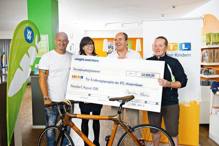 Auf in den Sattel, Radeln, Spenden & live beim RTL Spendenmarathon dabei sein