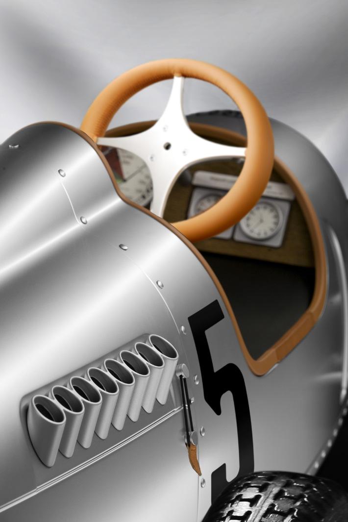 Tretauto Auto Union Typ C / Hommage an die frühere Rennsport-Ära