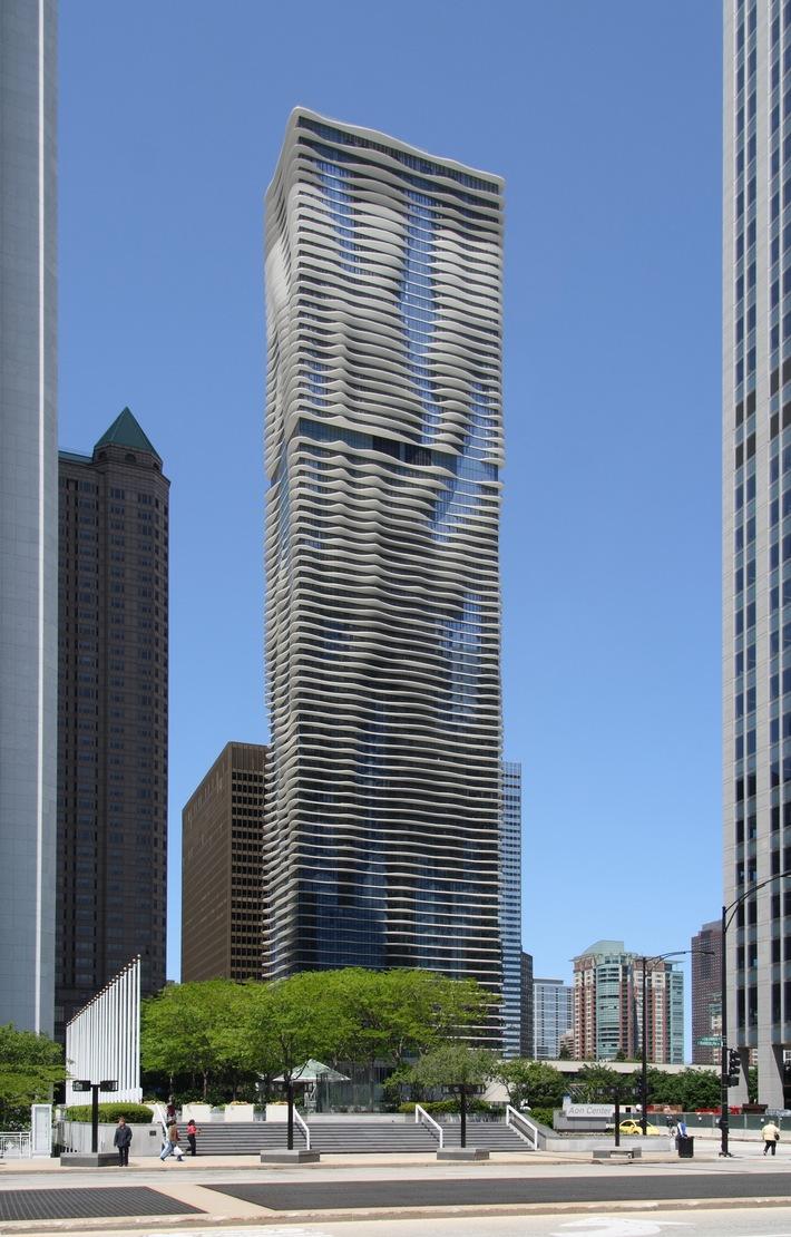 """Chicagos """"Aqua"""" wird zum Wolkenkratzer des Jahres 2009 gewählt (mit Bild)"""