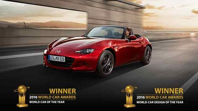 "Mazda MX-5 ist ""World Car of the Year 2016"""