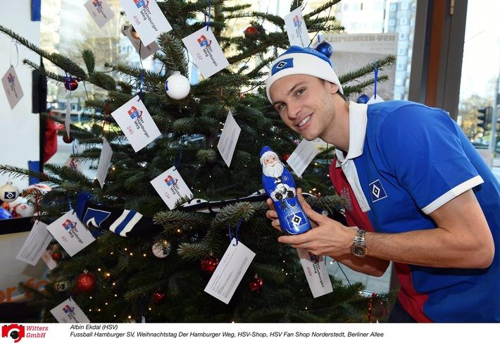 HSV-Presseservice: Der 8. Hamburger Weg Weihnachtstag: Mit großem Herz für kleine Wünsche