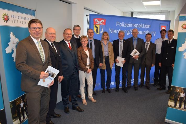 Verantwortliche aus der Kommunalpolitik in Nienburg