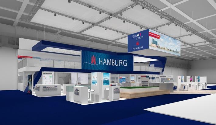 Hamburg Tourismus GmbH mit attraktiven Themen und vollem Programm auf der ITB in Berlin