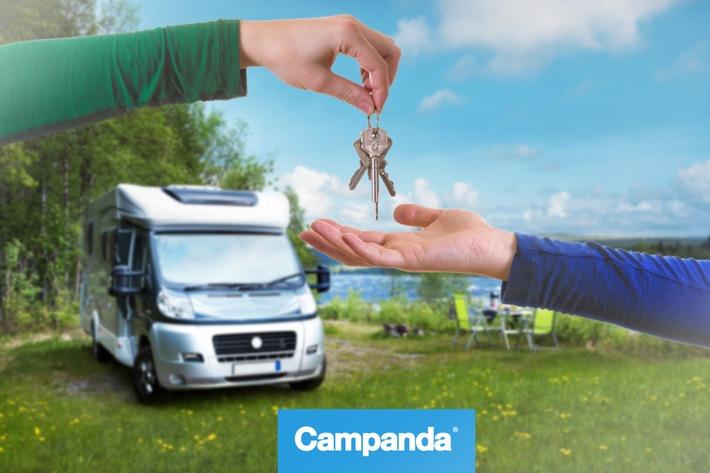 Privates Wohnmobil Sharing auf dem Vormarsch - Campanda arbeitet jetzt mit Versicherungslösung von Allianz