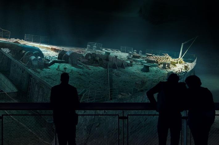TITANIC - Die Versprechen der Moderne: Yadegar Asisi zeigt ab 28. Januar 2017 ein neues 360°-Panorama im Panometer Leipzig