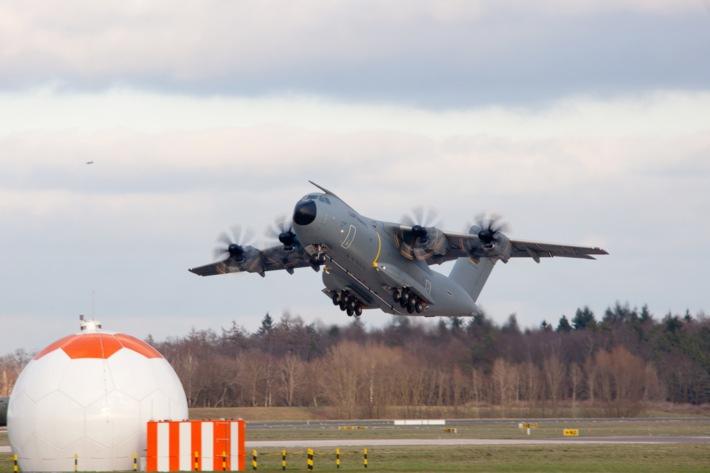 Airbus A 400-M: Inspekteur der Luftwaffe gibt Flugbetrieb wieder frei