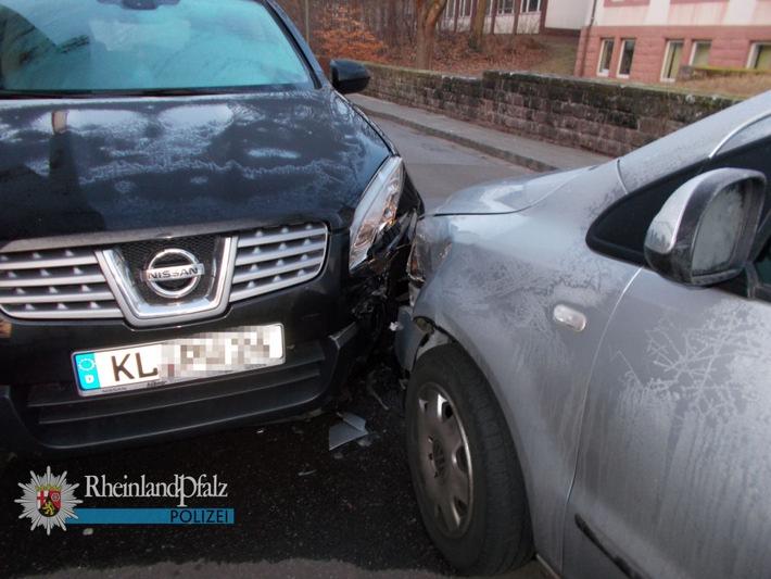POL-PPWP: Fußgängerin erfasst und gegen parkendes Auto gestoßen