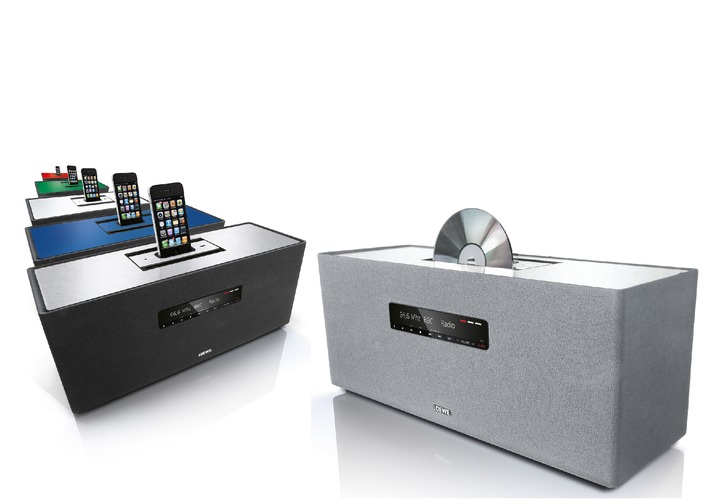 Elegante Loewe Soundbox für unkomplizierten Hörgenuss