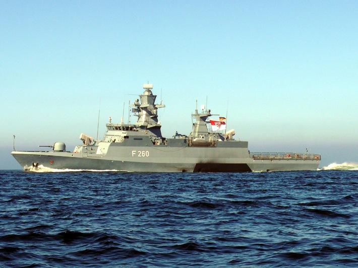 Deutsche Marine: Die Korvette Braunschweig wird in Dienst gestellt  - Vorabinformation -