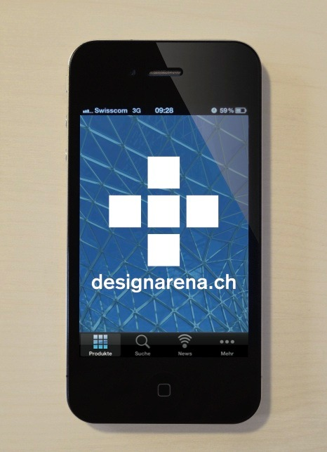 Seit einiger Zeit steht das designarena app für's iPhone und iPad zur Verfügung