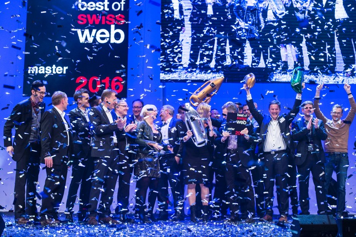 Post.ch élu «Master of Swiss Web 2016»