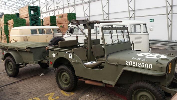 ZOLL-HH: Maschinengewehr in Bremerhaven entdeckt Zollbeamte stellen Verstoß gegen das Kriegswaffenkontrollgesetz fest