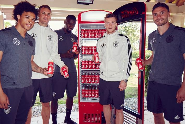 Coca-Cola reist gemeinsam mit den Fans ins Trainingslager der deutschen Nationalmannschaft