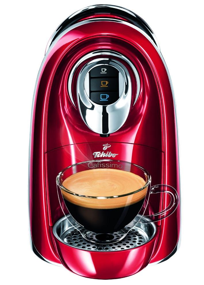 Tchibo: Cleverer Kaffeegenuss mit der Cafissimo COMPACT