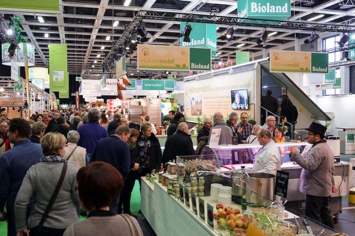Grüne Woche 2016 / BioHalle 2016: Bio auf die Spur kommen
