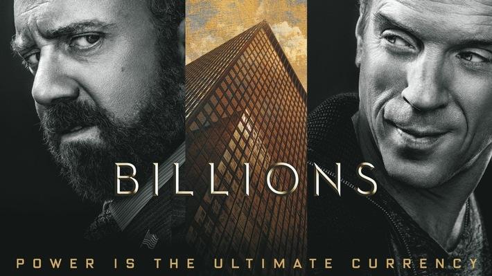 """Damian Lewis spricht jetzt Deutsch: die realistische Wall-Street-Thrillerserie """"Billions"""" präsentiert von Sky On Demand"""