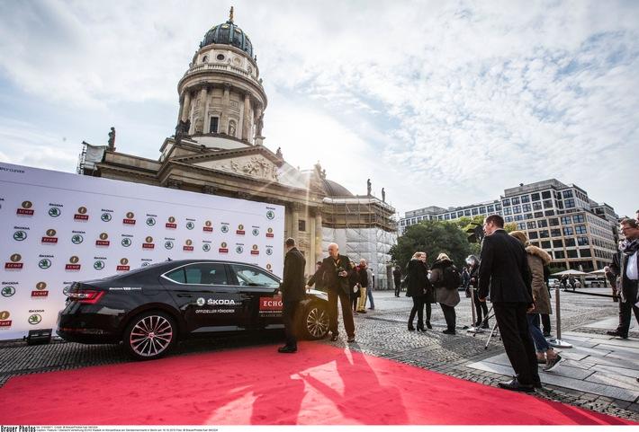 ECHO KLASSIK: SKODA sorgt erneut für exklusive Vorfahrt bei der glanzvollen Gala