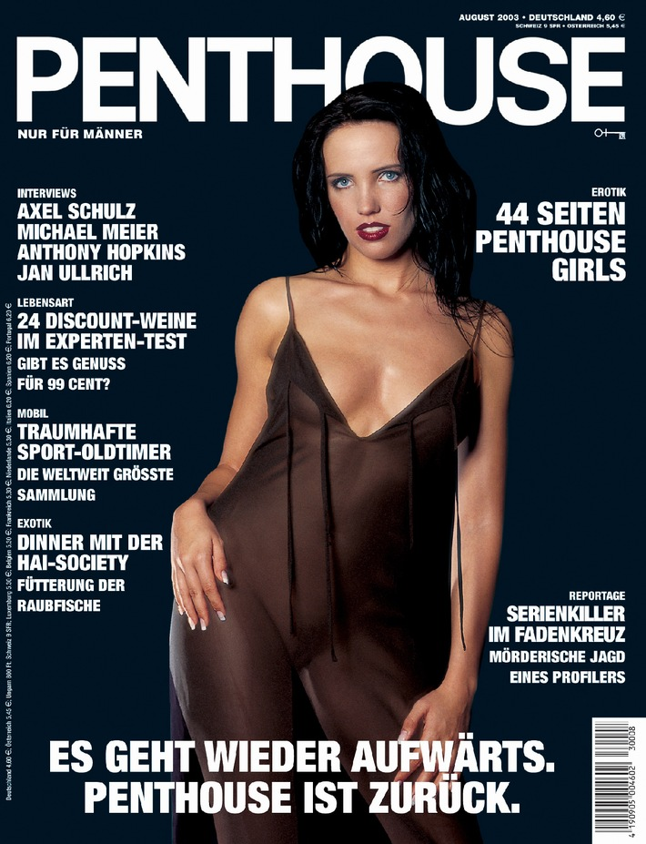 Gute Nachricht für Männer: PENTHOUSE is back: Männermagazin bietet Lebensart, Luxus und Leidenschaft sowie umfangreiches Erotikangebot - nach einjähriger Pause wieder erhältlich