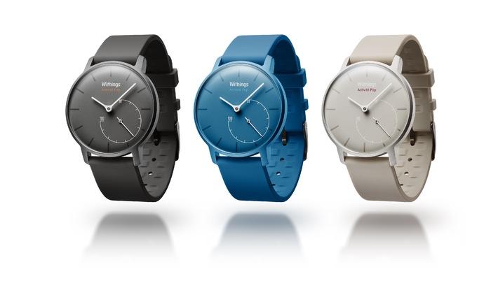 Poppig, stylish und smart: Die Activité Pop kann mehr als andere Uhren / Withings stellt Smartwatch vor, die sich sehen lassen kann