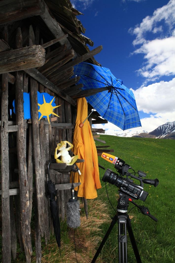 Europas geballte TV-Wetterkompetenz pilgert nach Tirol - BILD