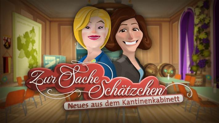 """Hier geht's zur Sache, Schätzchen! / Animierte Glosse in der Sendung """"zur Sache Rheinland-Pfalz!"""" läuft zum 150. Mal im SWR Fernsehen"""