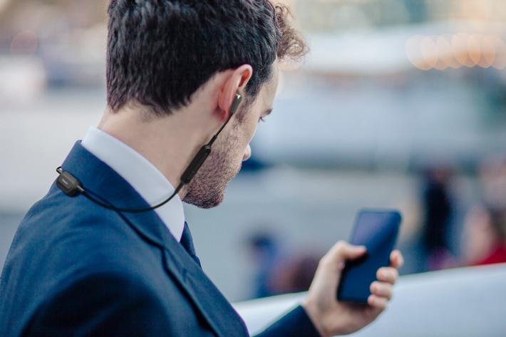 Musikalischer Alltagsbegleiter von Panasonic / Überzeugendes Preis-Leistungs-Verhältnis: Bluetooth In-Ear Kopfhörer RP-NJ300B für unterwegs