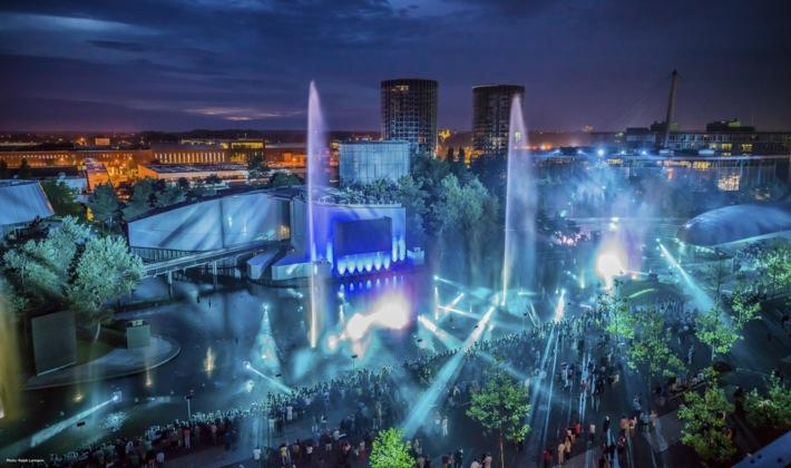 Die Sommerinszenierung 2015 in der Autostadt in Wolfsburg