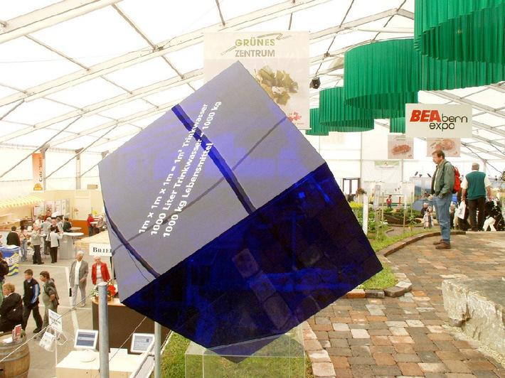 Inauguration BEA/Cheval 2003: La fascination de l'eau au Centre vert