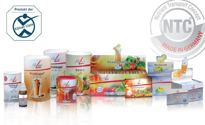 Tous les compléments alimentaires Fitline figurent sur la « liste de Cologne® »