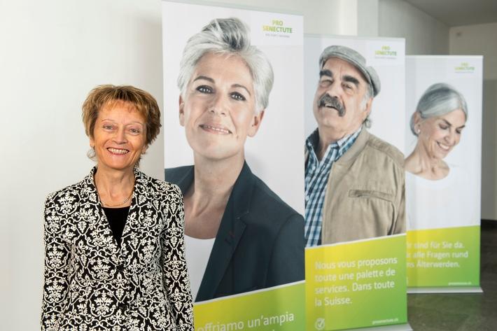 Eveline Widmer-Schlumpf nuova presidente di Pro Senectute Svizzera