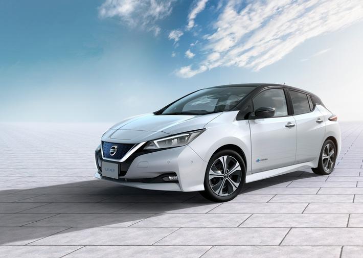 Elektrisch und teilautonom: die Zukunft spielt im neuen Nissan Leaf