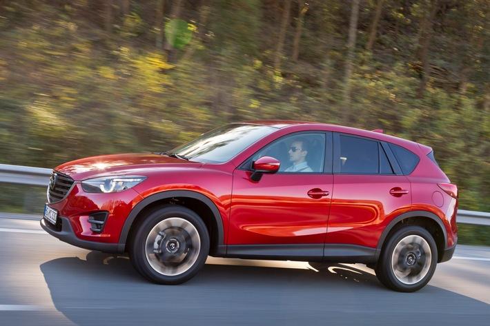Sieg für Mazda CX-5 bei der AUTO TROPHY 2015