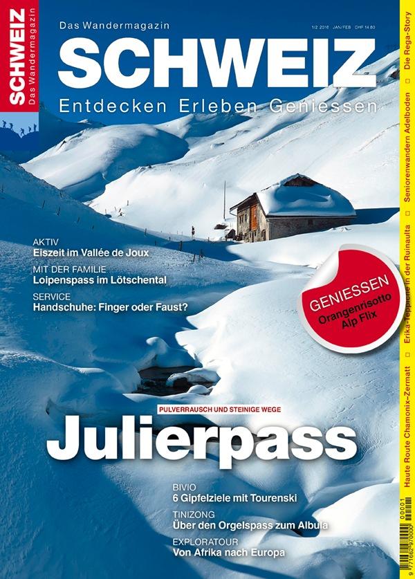 Wandermagazin SCHWEIZ: Julierpass